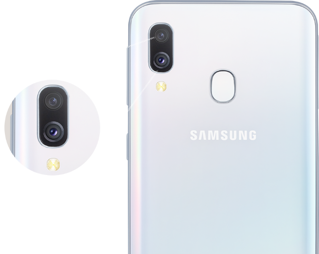 Camera Samsung Galaxy A40