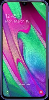 Ecranul Samsung Galaxy A40