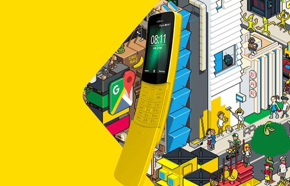 Nokia 8110 casti
