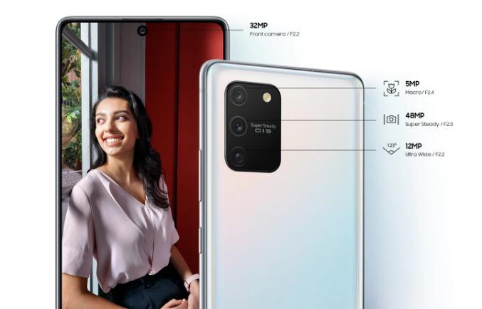 Samsung S10 Lite Cameras